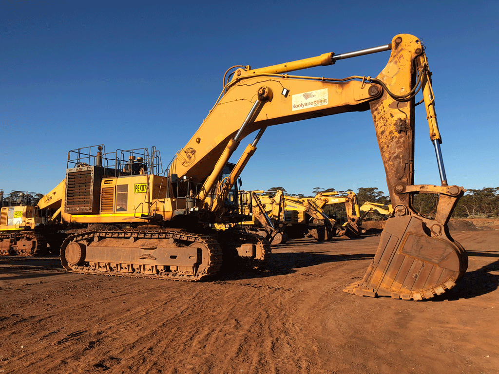 excavator sizes - mining excavator