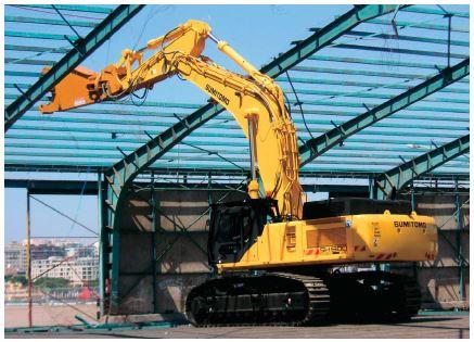 excavator sizes - large excavator