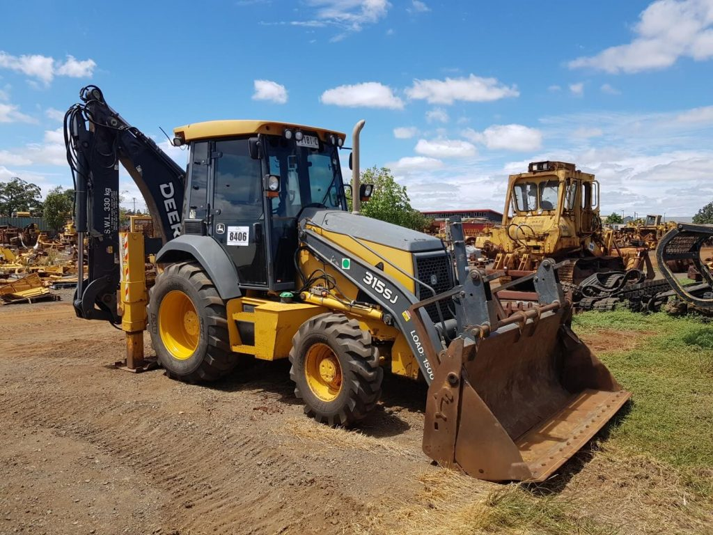 john deere construction backhoe