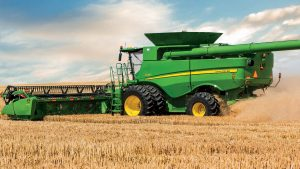 S690 combine harvester