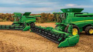 John Deere Combine Harvester S Series