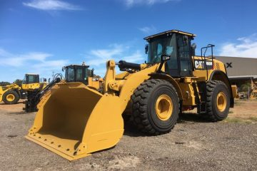 Caterpillar 966M Wheel Loader