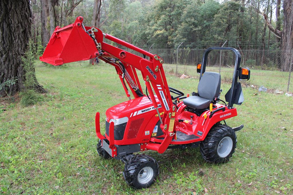 Massey Ferguson sub compact tractor