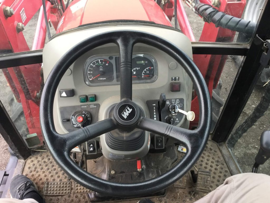 TYM T503 Tractor Cab