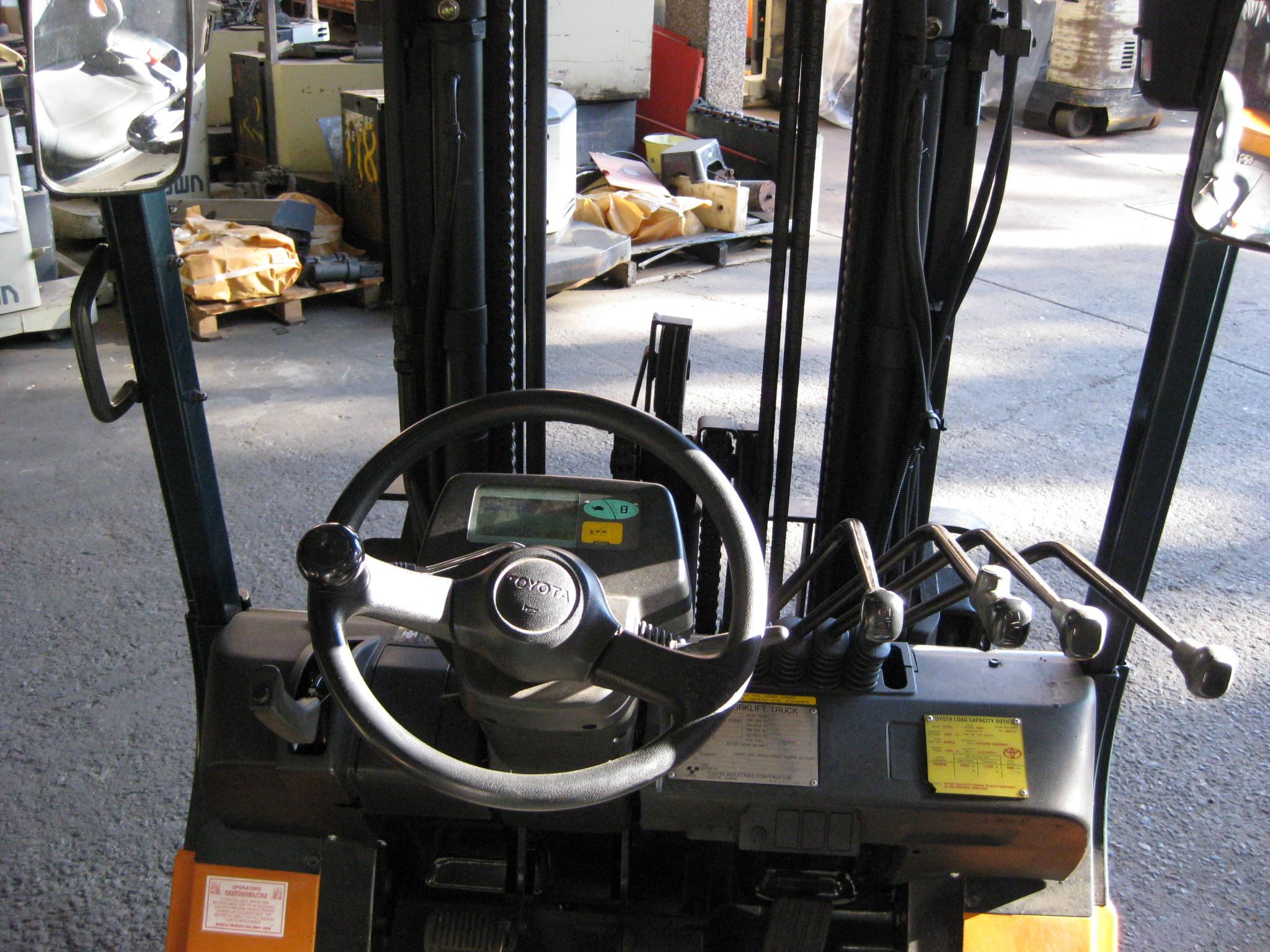 Electric Forklift steering wheel