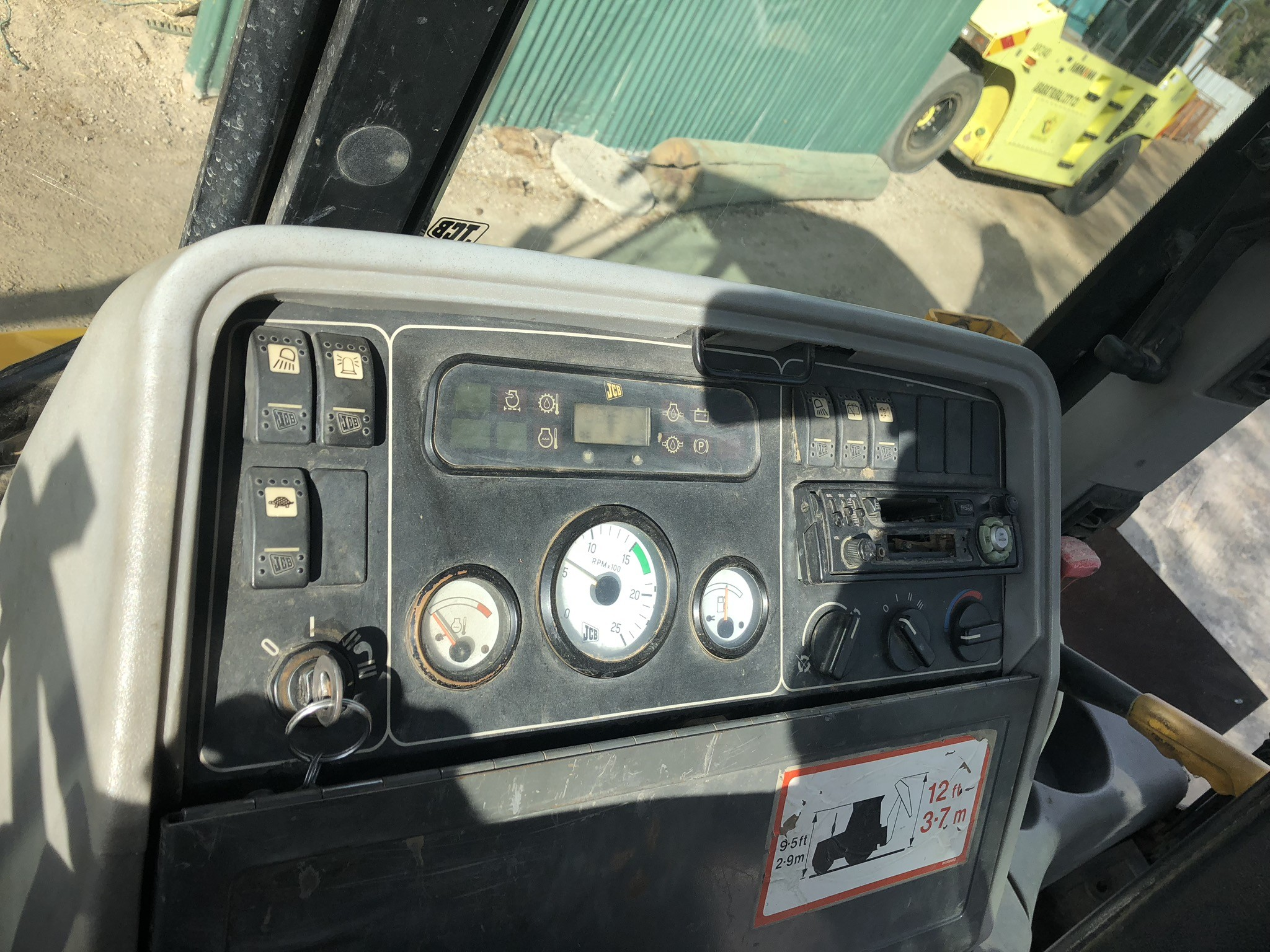 JCB 3CX Cab