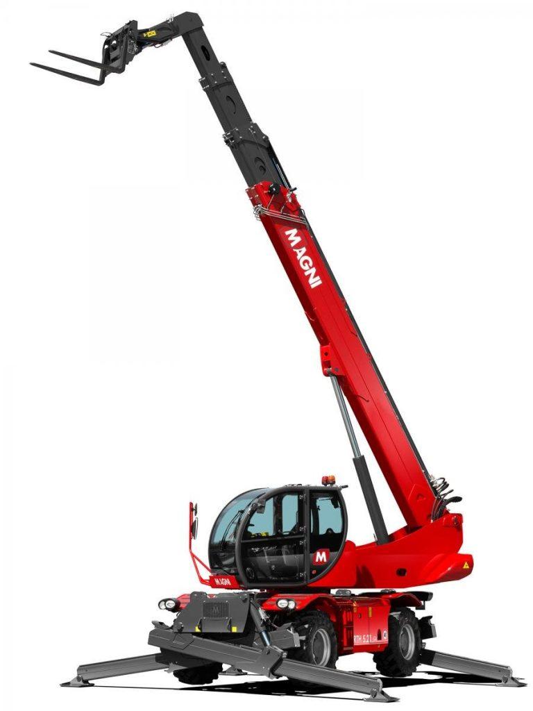 Magni telescopic handler RTH 5.21 SH