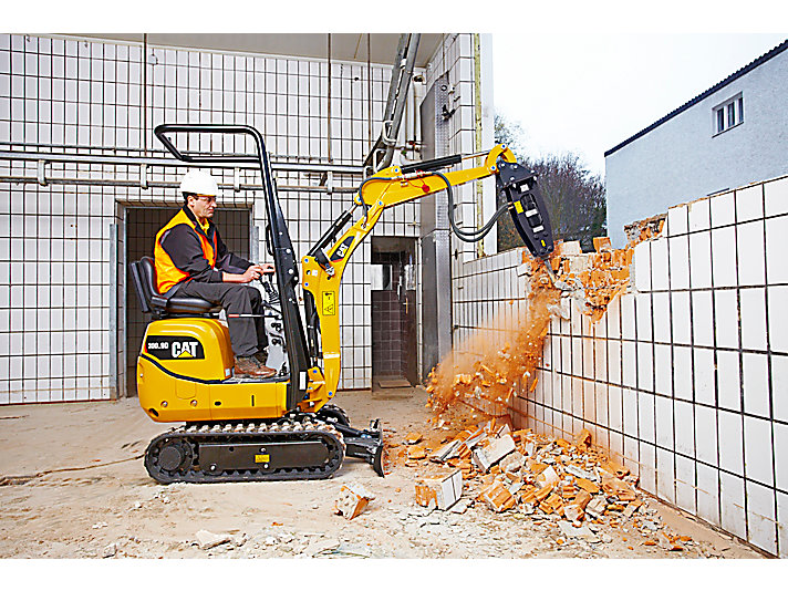 Cat Excavator Sizes: A Guide