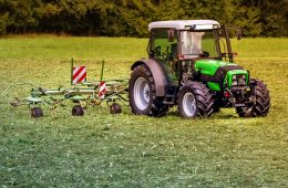 Compact tractor implements