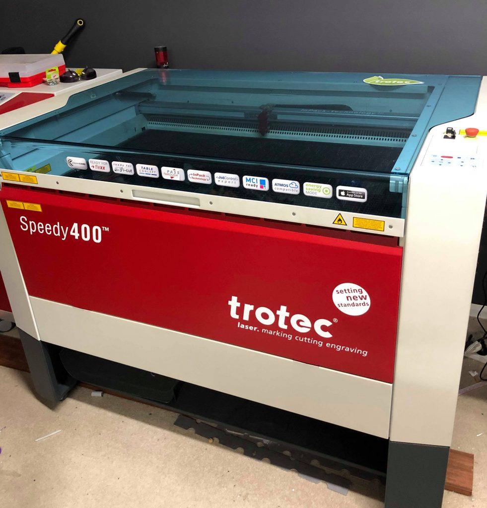 Trotec laser cutter
