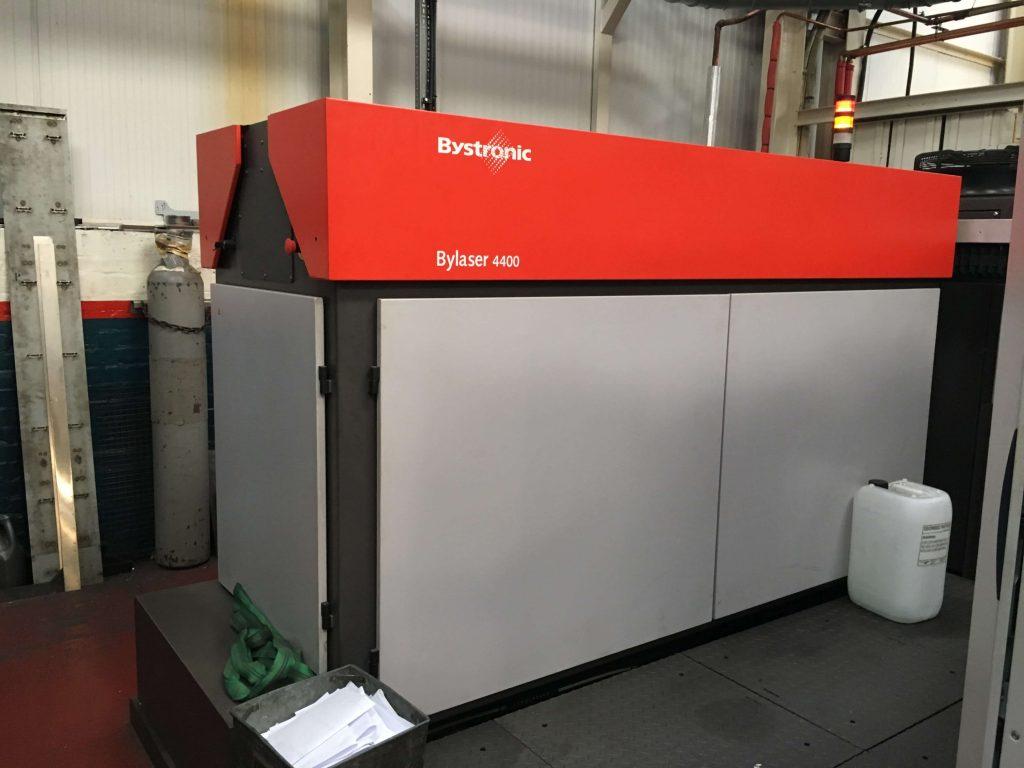 Laser cutter brands Bystronic Bylaser 4400