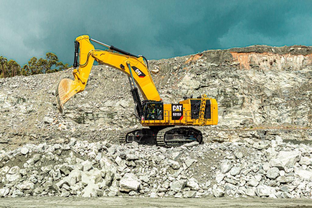 Caterpillar Excavator 6015B