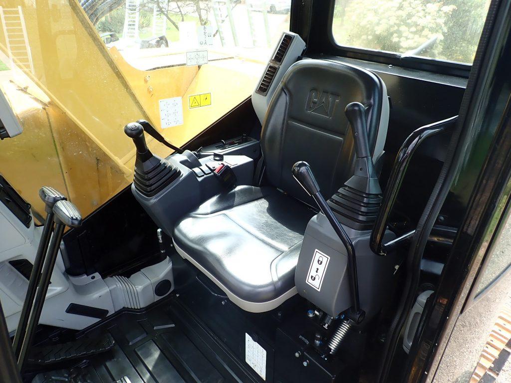 Caterpillar 308ECR Excavator Interior Cab
