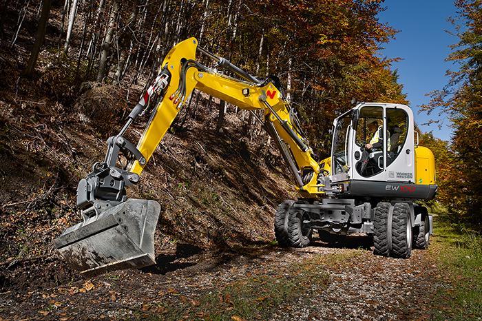 Wacker Neuson Wheeled Excavator